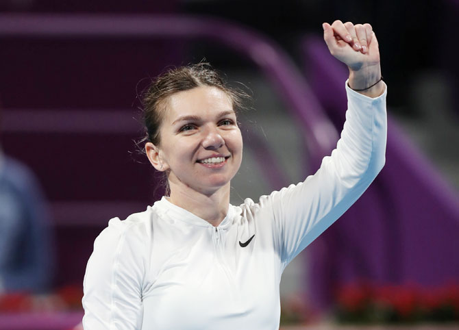 Tennis round-up: Halep, Svitolina cruise into Qatar Open quarters