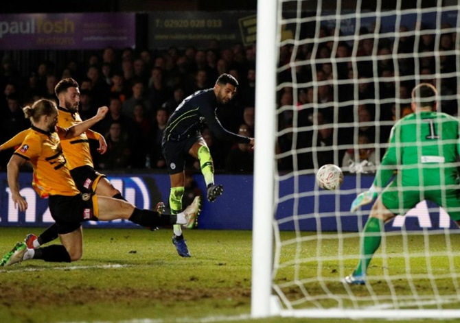 FA Cup: Man City end Newport's dream