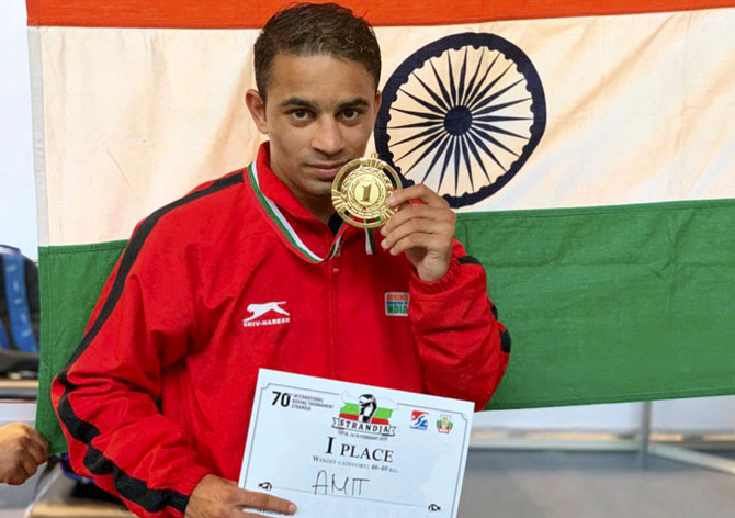 'I dedicate my medal to the heroes who lost their lives in Pulwama'