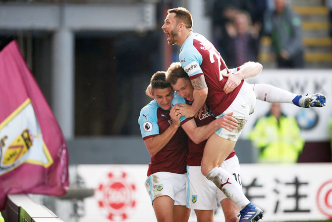 EPL: Spurs' hopes crash at Burnley, Huddersfield lose again