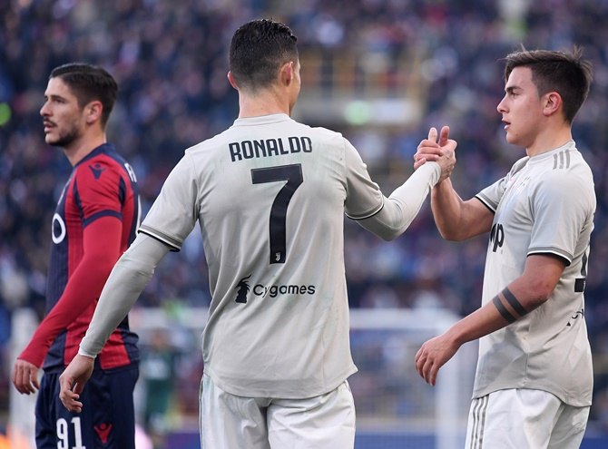 Football PICS: Juventus sink Bologna; Dortmund back to winning ways