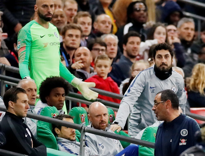 Chelsea boss plays down Kepa row as 'big misunderstanding'