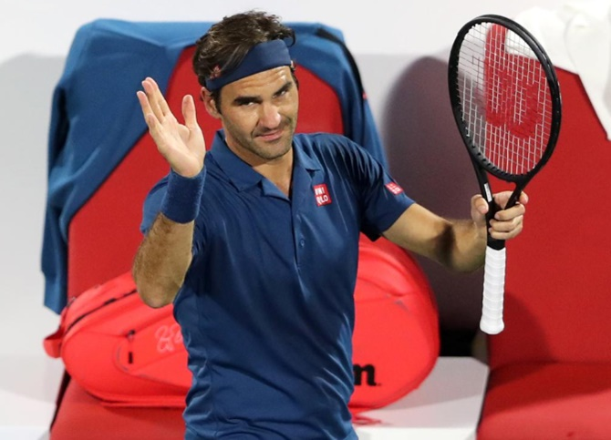 Tennis Roundup: Federer begins hunt for title number 100 in Dubai