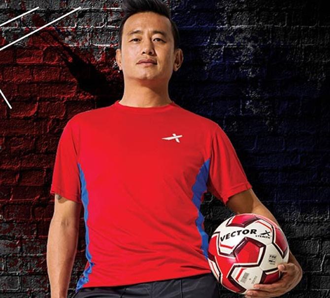 Rediff Sports - Cricket, Indian hockey, Tennis, Football, Chess, Golf - Politics calling again for Indian football legend Bhutia