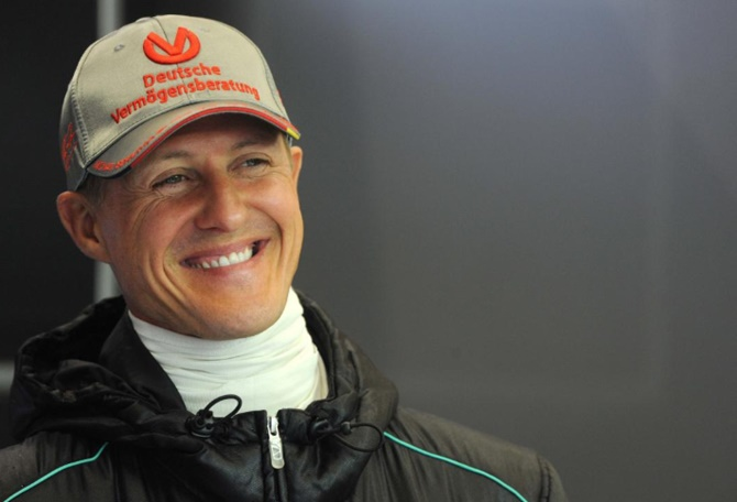 Rediff Sports - Cricket, Indian hockey, Tennis, Football, Chess, Golf - Formula One pays tribute to Schumacher at 50