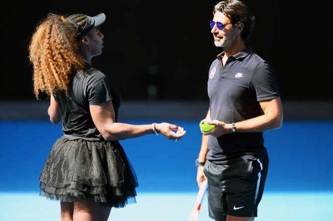 Rediff Sports - Cricket, Indian hockey, Tennis, Football, Chess, Golf - Serena mentor says won't do any on-court coaching