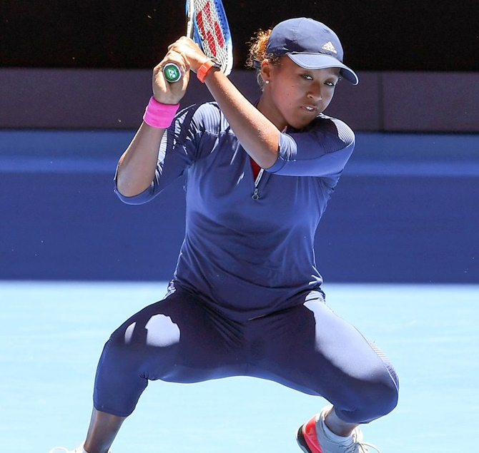 Rediff Sports - Cricket, Indian hockey, Tennis, Football, Chess, Golf - Australia Open: Leaner, mature Osaka stays grounded