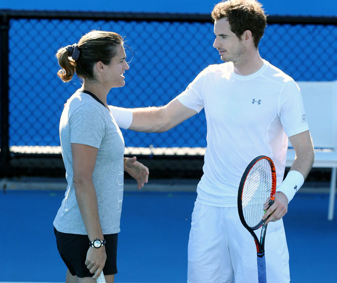 Rediff Sports - Cricket, Indian hockey, Tennis, Football, Chess, Golf - Murray has been undervalued as a man: Mauresmo
