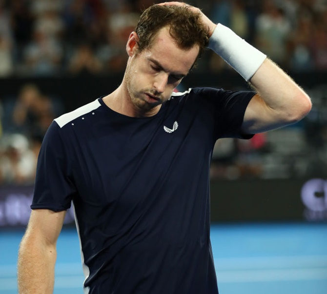 Rediff Sports - Cricket, Indian hockey, Tennis, Football, Chess, Golf - Murray bows out of Australian Open after epic comeback