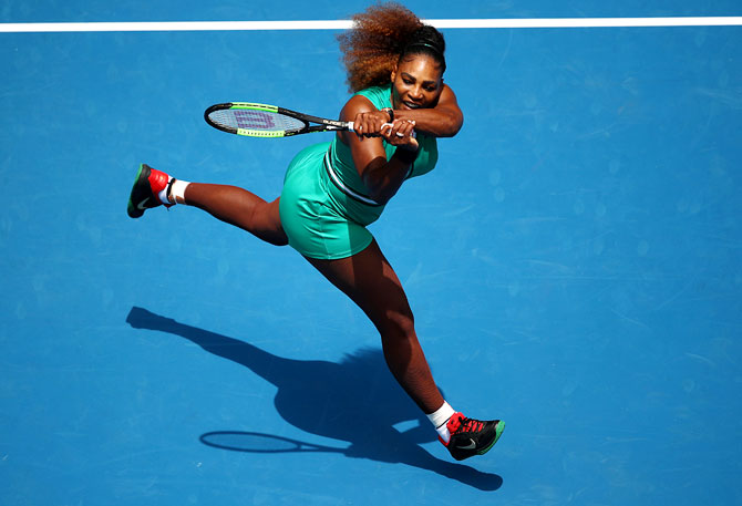 Rediff Sports - Cricket, Indian hockey, Tennis, Football, Chess, Golf - Serena will surpass Court's Grand Slam record, says Graff