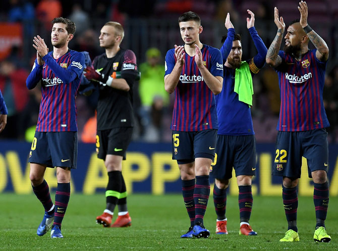 Rediff Sports - Cricket, Indian hockey, Tennis, Football, Chess, Golf - Football Extras: Why Barcelona are in trouble