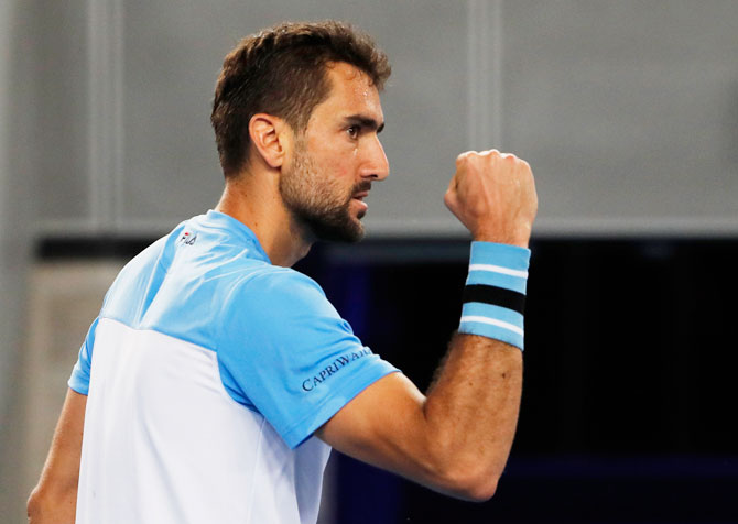 Rediff Sports - Cricket, Indian hockey, Tennis, Football, Chess, Golf - Aus Open: Cilic defeats Verdasco in late night thriller