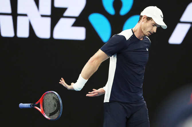 Rediff Sports - Cricket, Indian hockey, Tennis, Football, Chess, Golf - Tennis round-up: Murray 'may undergo surgery again'
