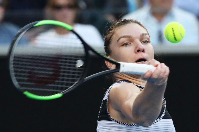 Rediff Sports - Cricket, Indian hockey, Tennis, Football, Chess, Golf - How Halep plans to take down Serena in Aus Open fourth round