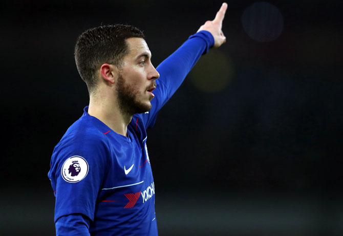 Is Hazard getting ready to leave Chelsea?