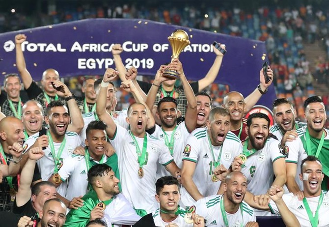 Algeria win Africa Cup of Nations with freak goal