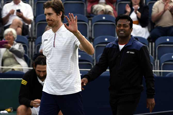 Paes-Daniell enter semis of Hall of Fame Open