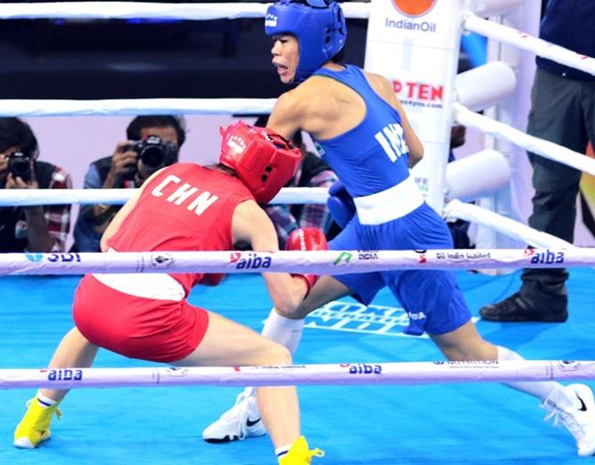 मुक्केबाज मेरीकॉम स्वर्ण पदक