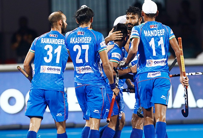 India beat South Africa 5-1 to win FIH Series Finals