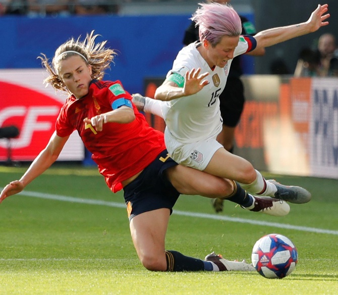 FIFA Women's WC: Rapinoe takes US into quarters