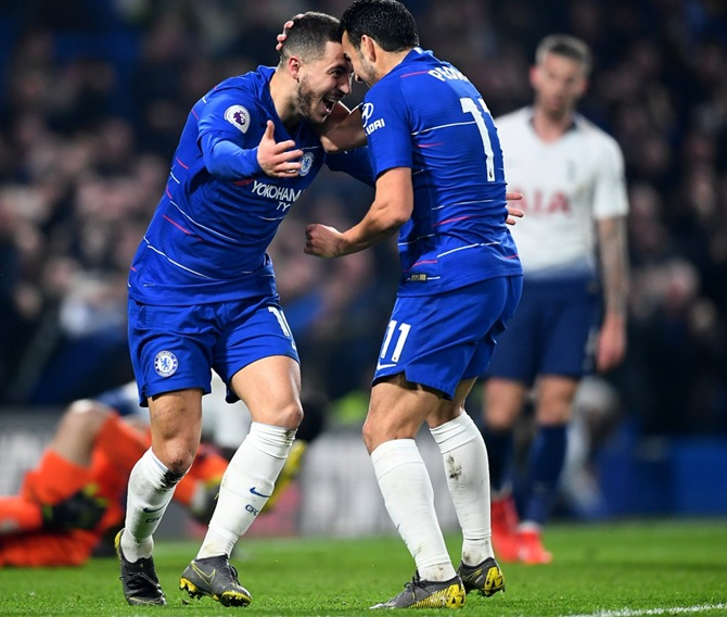 EPL PIX: Chelsea down lively Fulham in entertaining derby
