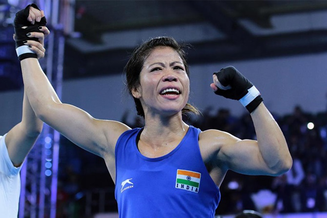 India Open: Mary Kom wins first bout, assured of medal