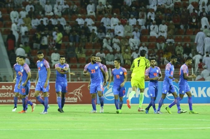 India lose to Oman, virtually out of World Cup race