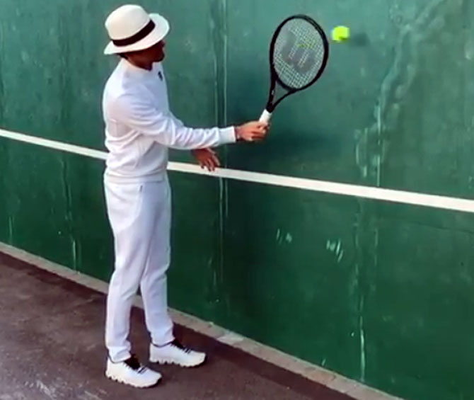 Lockdown Games: What's this tennis great up to?