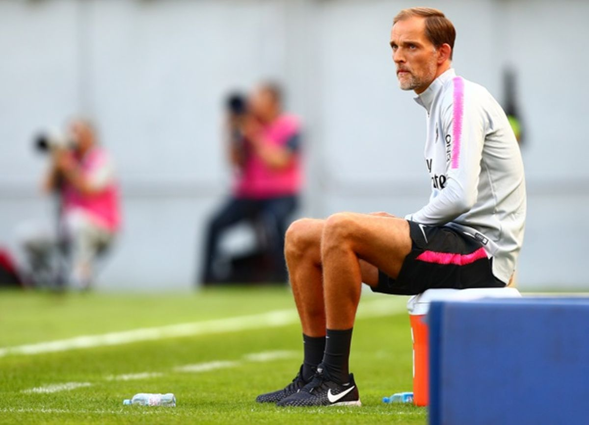 Thomas Tuchel, 47, was appointed PSG boss in 2018 and guided them to two Ligue 1 titles along with a domestic quadruple in his second season at the club.