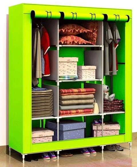 Steel Foldable Wardrobe