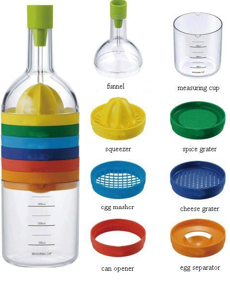 8 in 1 bottle - Kitchen Items