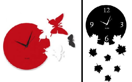 14 Trendy Wall Clocks That Can Easily Substitute Your Wall Paintings ...