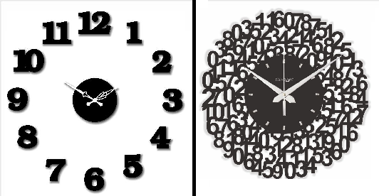 Wall Clock Designs Latest : Trendy wall clocks that can easily substitute your