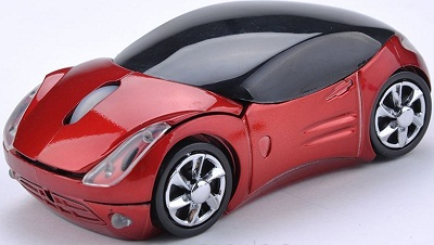 Toy Car Shaped Optical Mouse