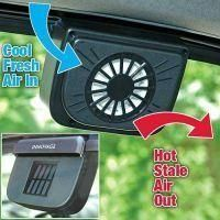 ... Auto Cool Ventilation Fan Solar Powered Exhaust System Keep Your Car  Cool