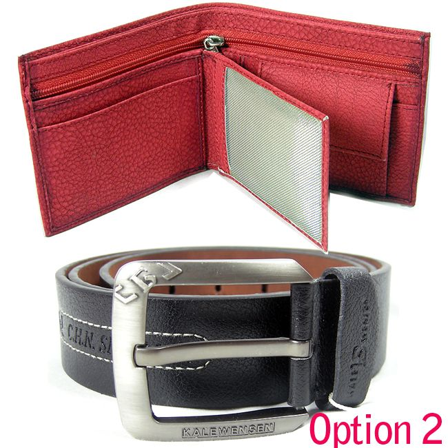 Exclusive Collection Combo Of Imported Belt And Wallet For Your Dude