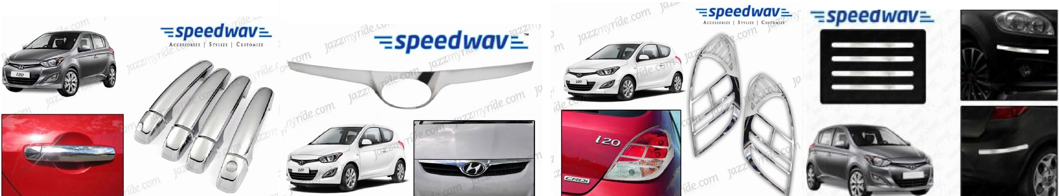 17 car accessories that make your hyundai i20 stylish for Automobile decoration accessories