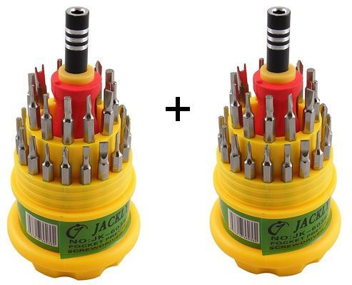 Buy 1 Get 1 Free Jackly 31 In 1 Screw Driver Set Magnetic Toolkit
