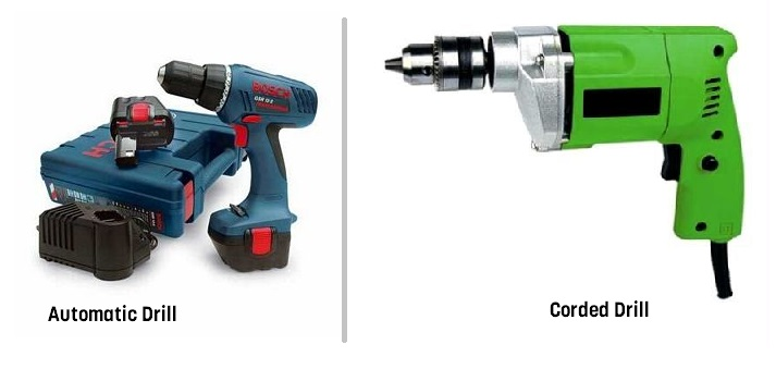 Branded True Star Powerful Cordless and Corded Drill Machine