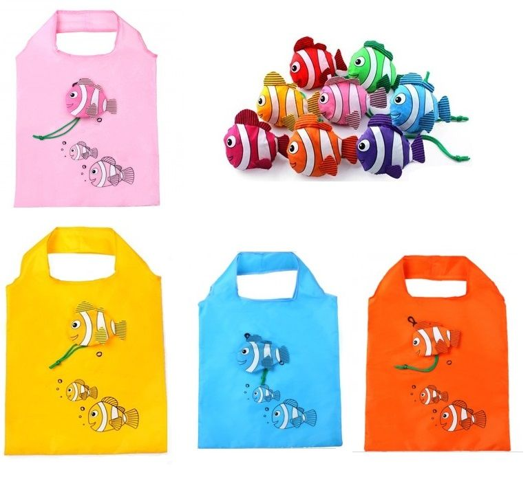 Fish Folding Shopping Bag