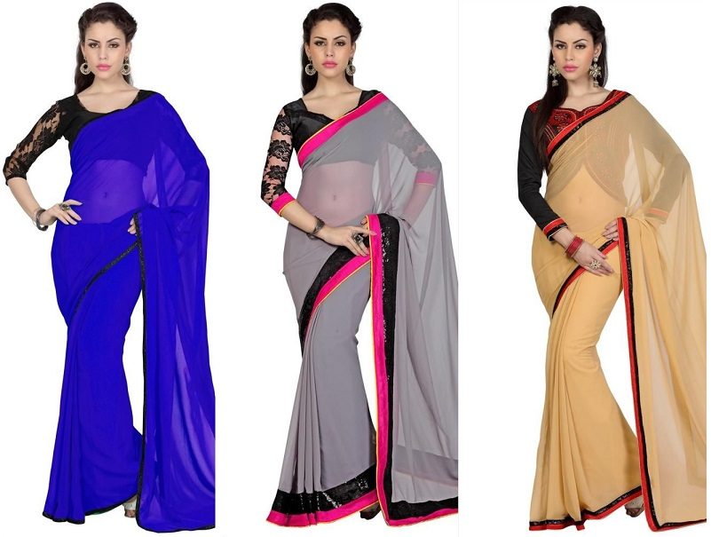 6dccbbf1439949 The Art of Choosing Blouse Design on Sarees - Latest Fashion Trends |  Fashion Tips | Online Shopping Fashion India