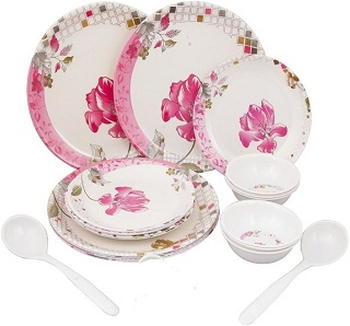 Melamine Dinner set  sc 1 st  Rediff.com & 4 Things to Consider While Buying A Dinner Set - Best Travel ...