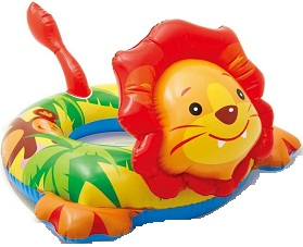 Animal shaped float