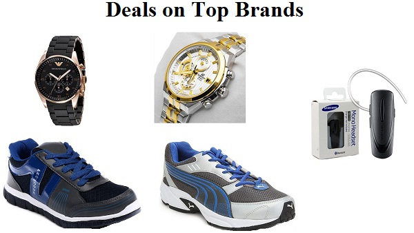 Deals on top brands