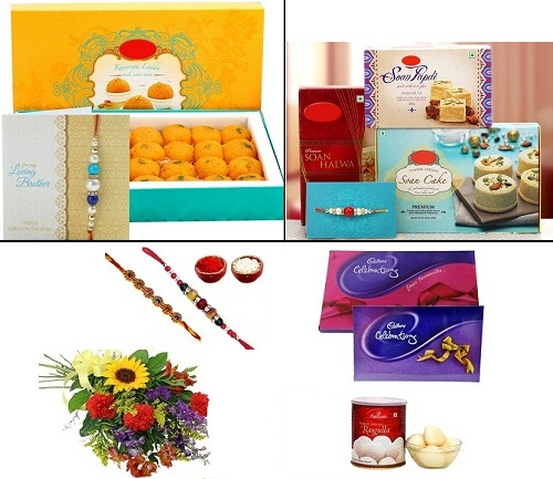 Rakhi Mithai Hampers