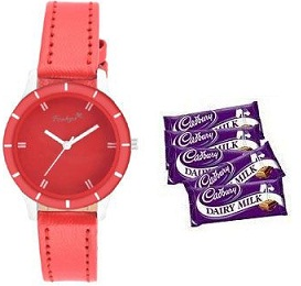 Casual Watch and Chocolates