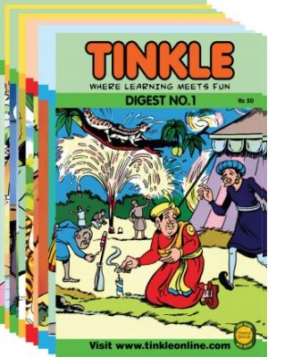 Twinkle Comic Series By ACK