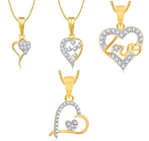 Beautiful pendants for your loved ones this valentine
