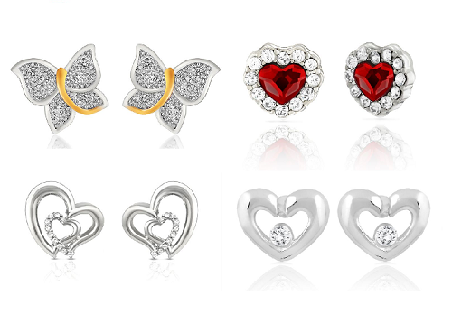 Beautiful earrings for your love