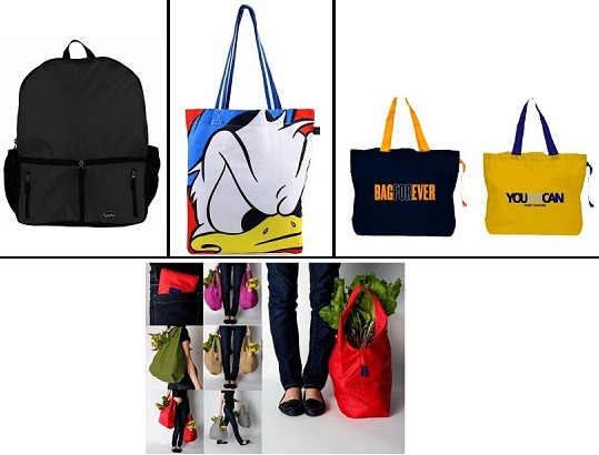 Functional shopping bags